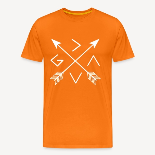 GOD IS GREATER THAN THE HIGHS AND LOWS - Men's Premium T-Shirt
