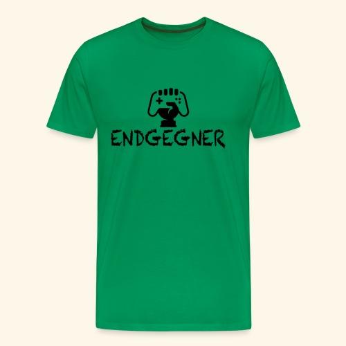 Endgegner Konsole zocken online twitch gamer - Männer Premium T-Shirt