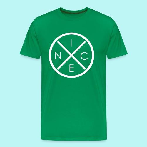 Nice! (White) - Männer Premium T-Shirt