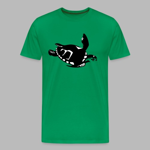 Green Turtle Schildkröte - Männer Premium T-Shirt