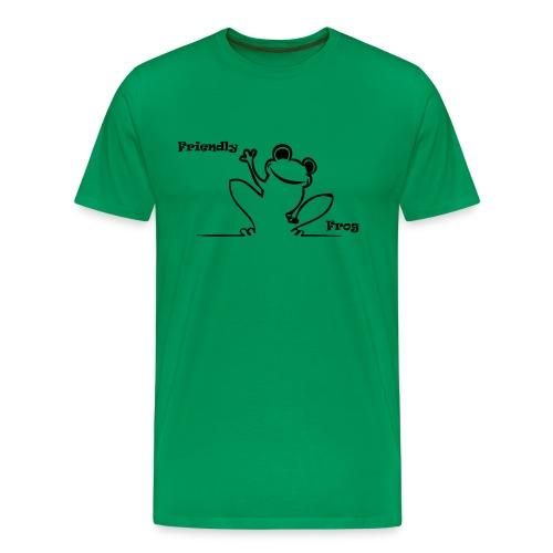 friendly_frog - Men's Premium T-Shirt
