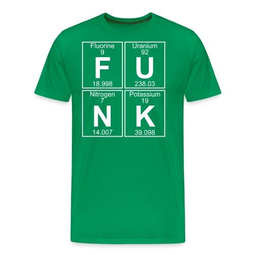 F-U-N-K (funk) - Full - Men's Premium T-Shirt