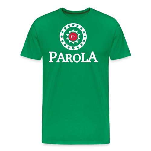 Parola Logo plane - black - Männer Premium T-Shirt