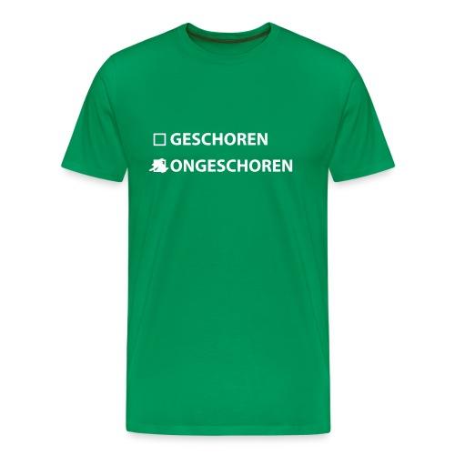 Geschoren, ongeschoren - Mannen Premium T-shirt