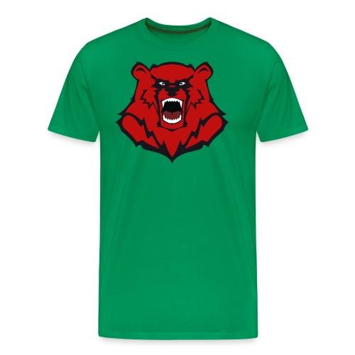 Tasche mit Bärenlogo - Männer Premium T-Shirt