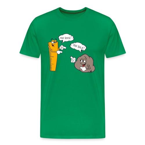 yourock png - Camiseta premium hombre