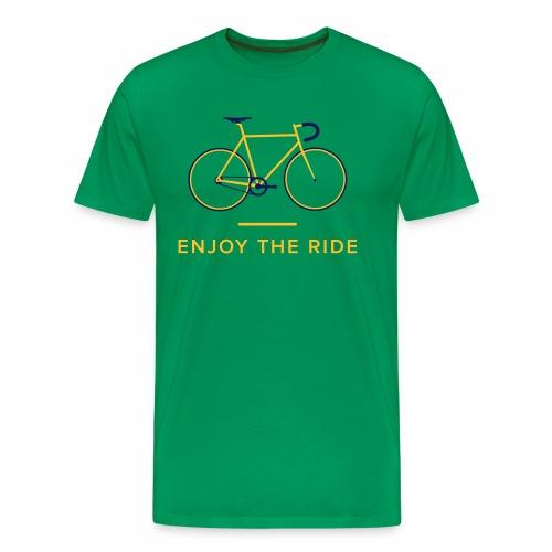 Vintage Racing Bike Retro Cycling T-Shirt - Men's Premium T-Shirt