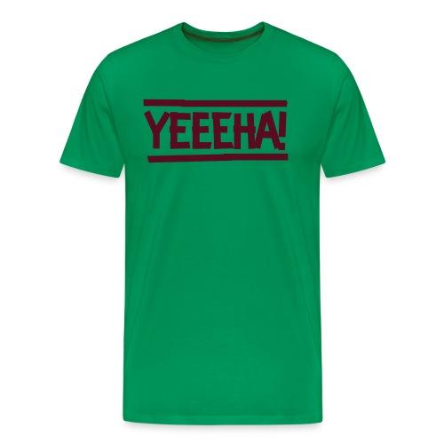 DC YEEEHA sw - Männer Premium T-Shirt