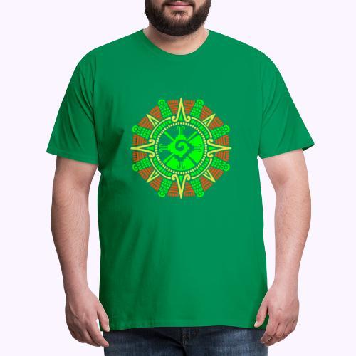 Hunab Ku Mayan Moonstone - Men's Premium T-Shirt