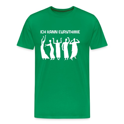 ICH KANN EURYTHMIE - Männer Premium T-Shirt