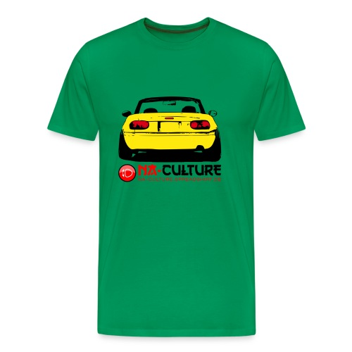 nac_gro_tail_gelb - Männer Premium T-Shirt