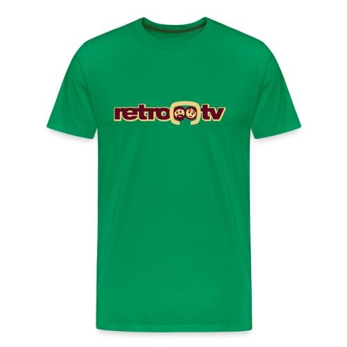 retro-tv Logo - Männer Premium T-Shirt