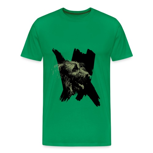 IW Dame Kaki - T-shirt Premium Homme