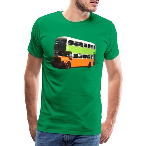 Glasgow Corporation Bus - Men's Premium T-Shirt