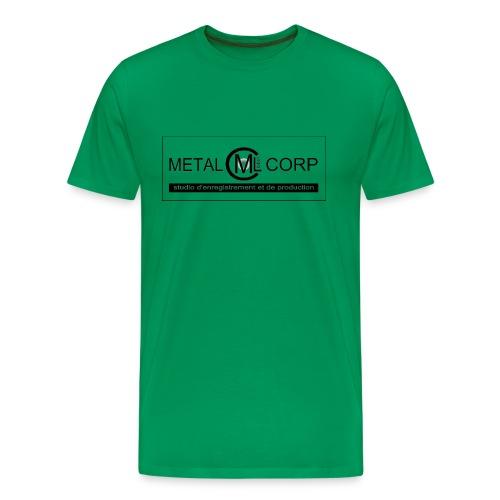 Métal Label Corp studio enregistrement artistes - T-shirt Premium Homme