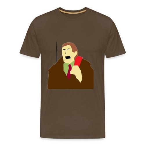 B 1 0 0 - Mannen Premium T-shirt