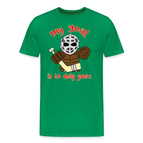 Little Vintage Goalie - Men's Premium T-Shirt
