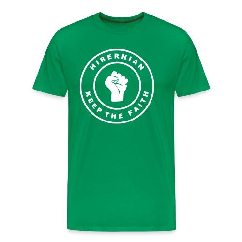tee hibs ktf - Men's Premium T-Shirt