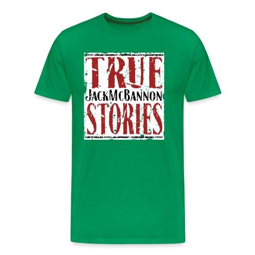 Jack McBannon - True Stories (RedWhiteBlack) - Männer Premium T-Shirt