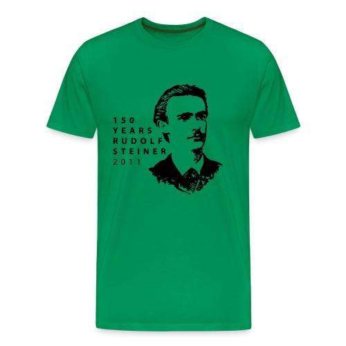 150 Years Rudolf Steiner 2011 - Männer Premium T-Shirt
