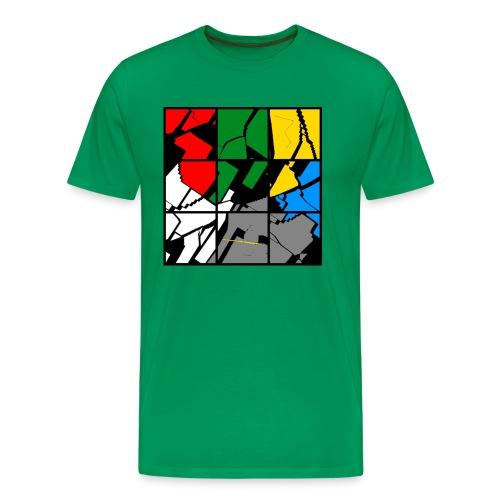 bunte platine - Männer Premium T-Shirt