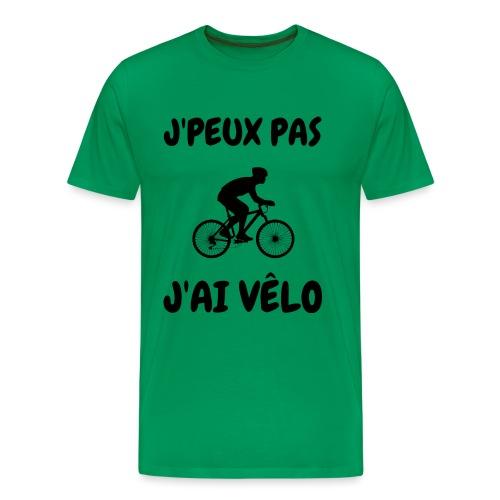 JPEUX pas Jai velo - T-shirt Premium Homme