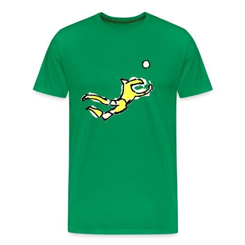 portiere giallo - Maglietta Premium da uomo