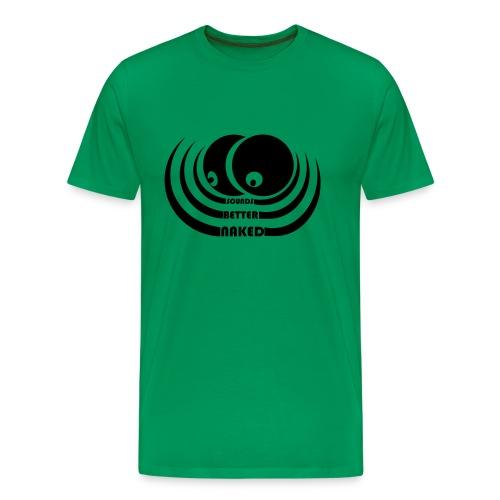 sbn logowvert - Männer Premium T-Shirt