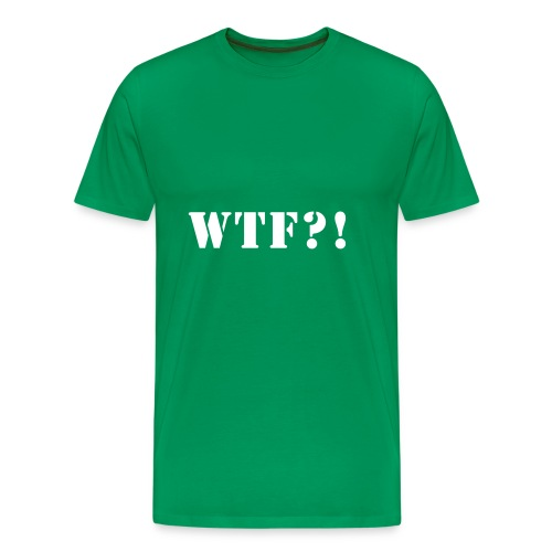 WTF?! - Mannen Premium T-shirt