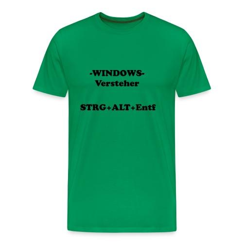 Windows Versteher - Männer Premium T-Shirt