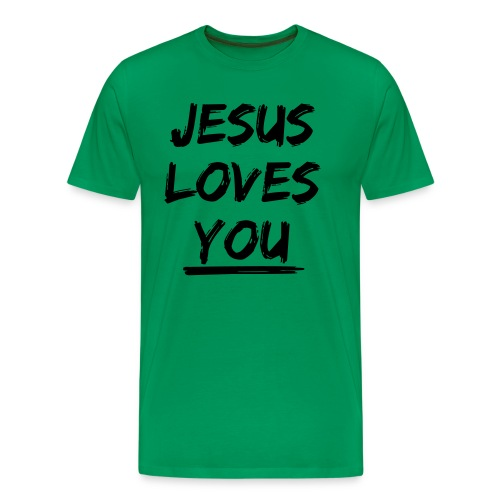 jesus-loves-you - Männer Premium T-Shirt