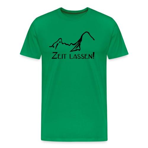 Watze-Zeitlassen - Männer Premium T-Shirt