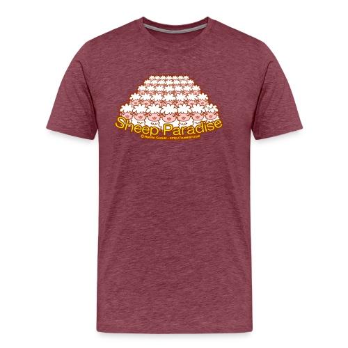 Sheep Paradise - Men's Premium T-Shirt