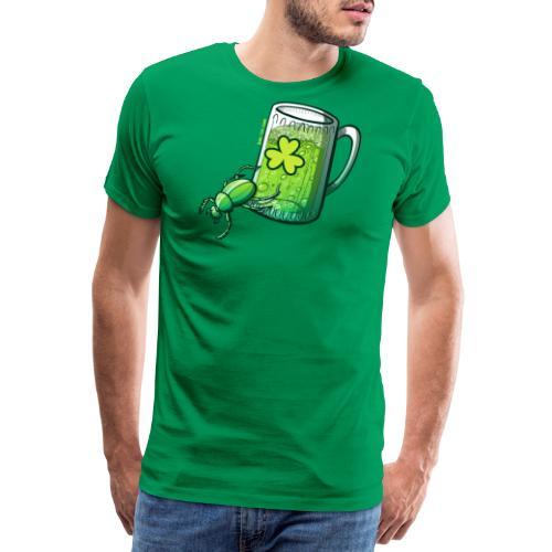 Saint Patrick's Day Beetle - Men's Premium T-Shirt