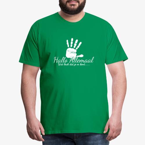 Hallo Allemaal - Mannen Premium T-shirt