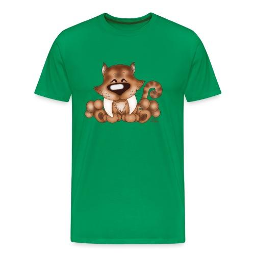 Tiggi Tooth - Männer Premium T-Shirt