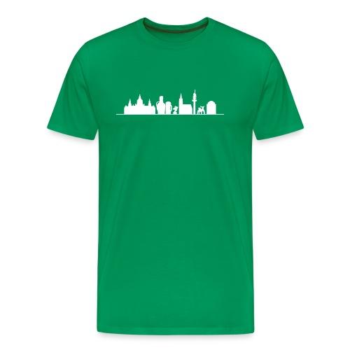 Skyline Hannover - Männer Premium T-Shirt