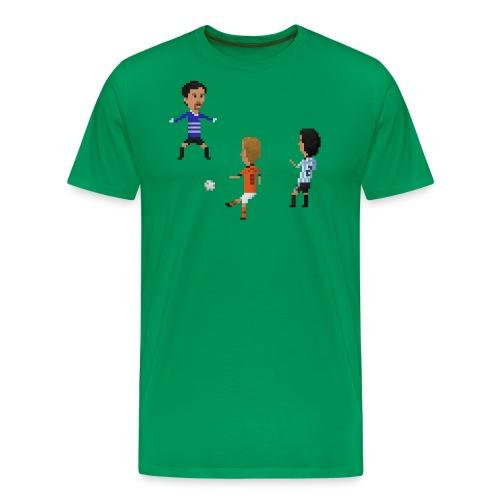 Netherlands vs Argentina 1998 - Men's Premium T-Shirt