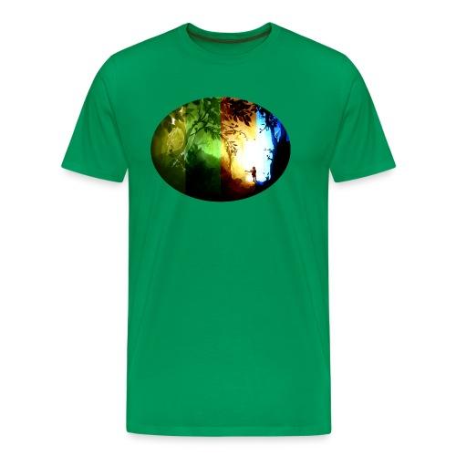 Seasons Passing - Men's Premium T-Shirt
