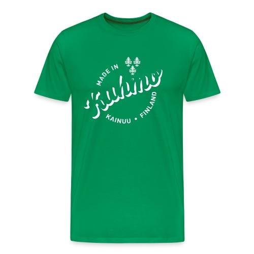 Made in Kuhmo - Miesten premium t-paita