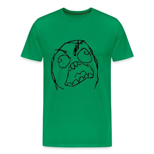 Rageface - Mannen Premium T-shirt