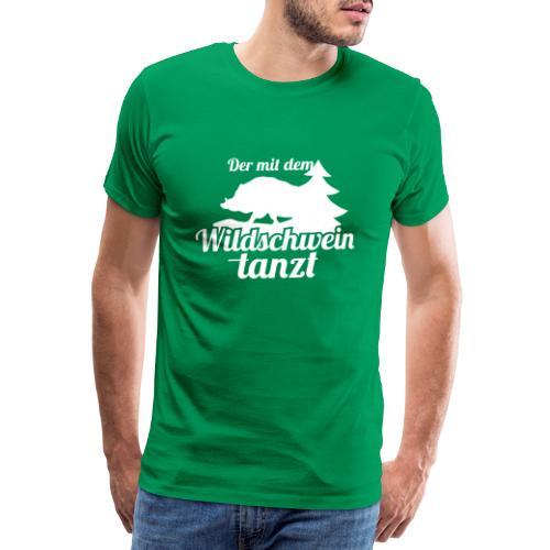 Wildschwein - Männer Premium T-Shirt