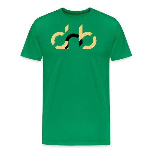 drumandbass de logo - Männer Premium T-Shirt