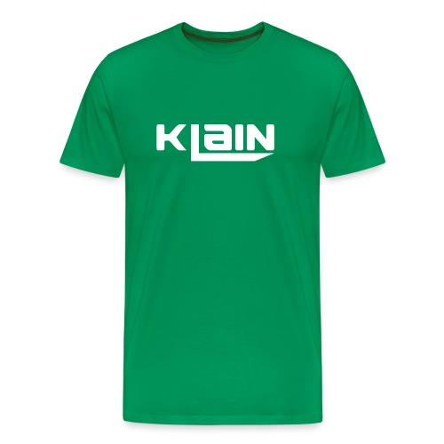 klain krus (Hvidt logo) - Herre premium T-shirt