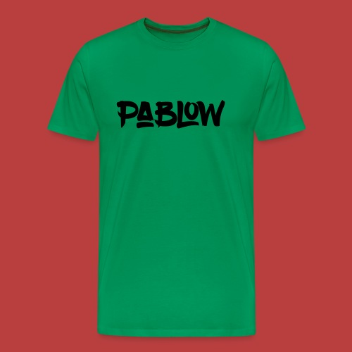 Pablow Logo - Mannen Premium T-shirt