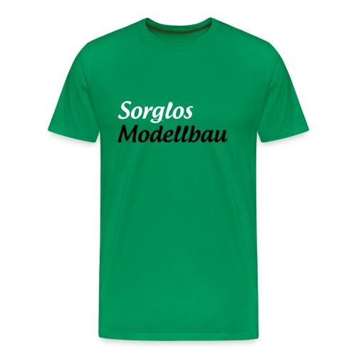Sorglos Modellbau Logo - Männer Premium T-Shirt