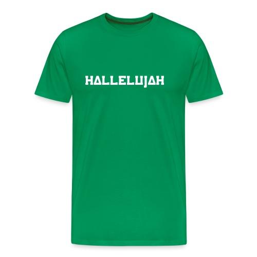 Hallelujah - Männer Premium T-Shirt
