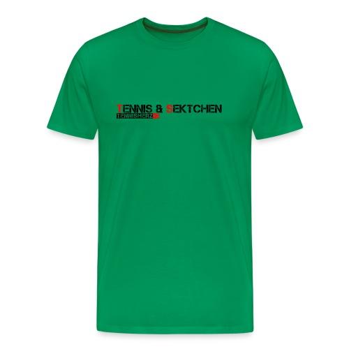 TennisSekt - Männer Premium T-Shirt