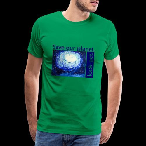 Save our planet. Unterwasserwelt. - Männer Premium T-Shirt