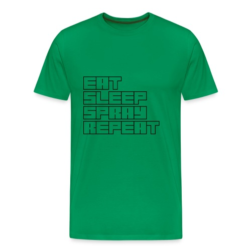 EATSLEEPSPRAYREPEAT - Men's Premium T-Shirt